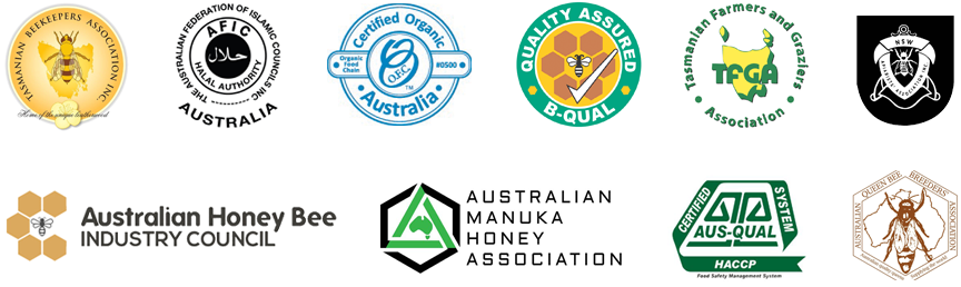 austtralian honey products certifications & memberships