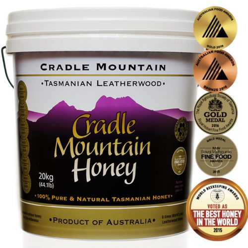Cradle Mountain Tasmanian Leatherwood Honey 20kg Pail