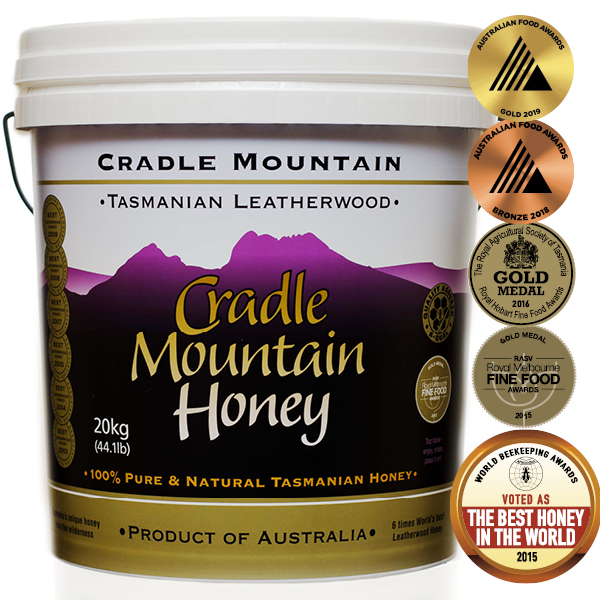 Cradle Mountain Tasmanian Leatherwood Honey 20kg Pail
