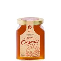 Taverner's Organic Tasmanian Manuka Leatherwood Honey 380g jar