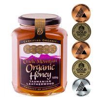 Cradle Mountain Organic Tasmanian Leatherwood Honey 500g jar