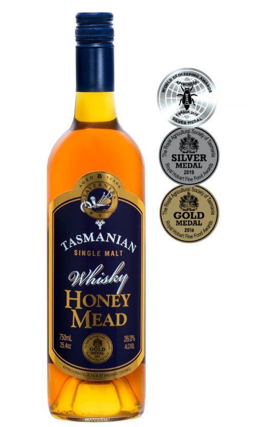 Taverner's Tasmanian Whisky Honey Mead 750ml