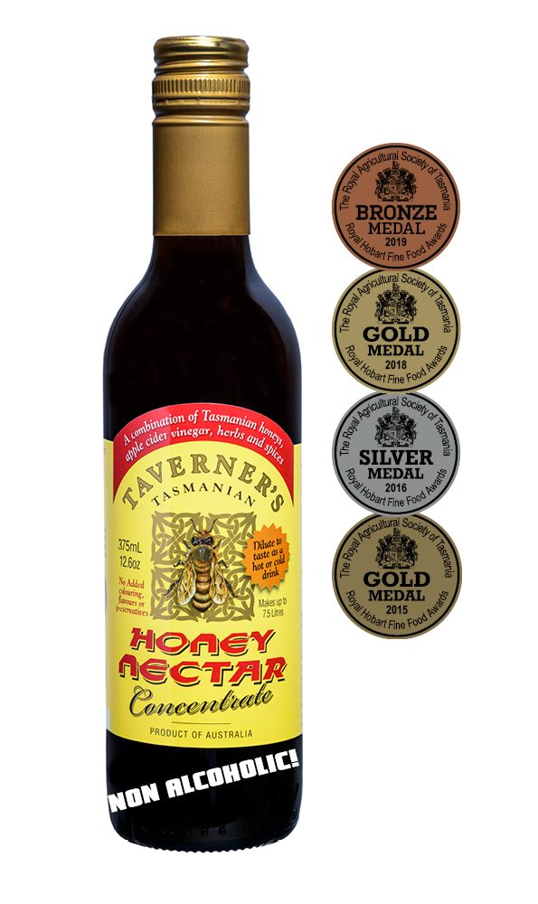 Taverner's Tasmanian Honey Nectar Concentrate 375ml