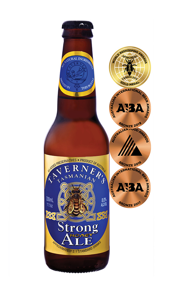 Taverner's Tasmanian Strong Honey Ale 330mL