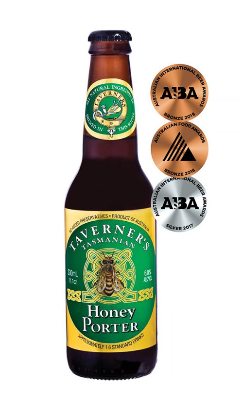 Taverner's Tasmanian Honey Porter 330mL