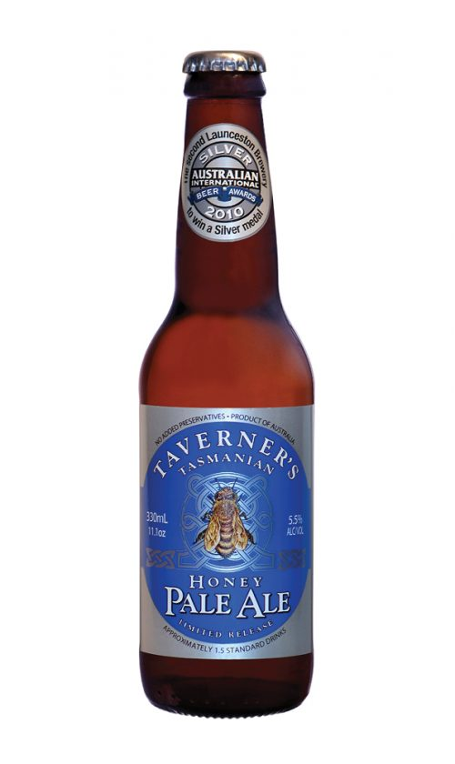 Taverner's Tasmanian Honey Pale Ale 330mL