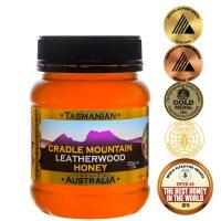 Cradle Mountain Tasmanian Leatherwood Honey 500g PET jar