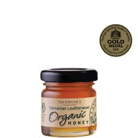 Taverner's Organic Tasmanian Leatherwood Honey 50g jar